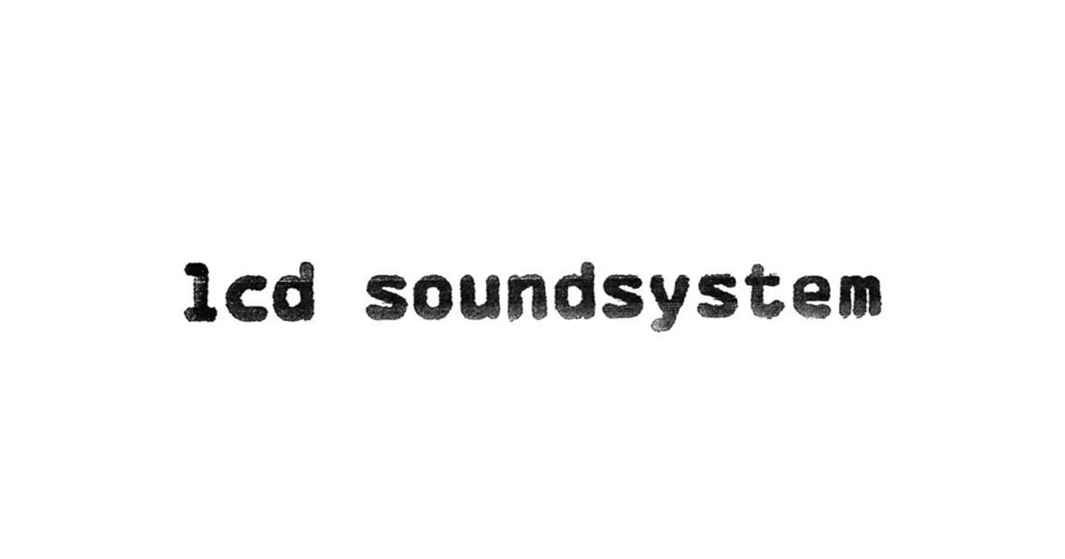 Home page New - LCD Soundsystem